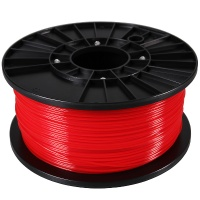 PLA Filament for 3D printers. 1.75mm, 1kg. (1,24 г / см³). Red ― DELTAMOBILE