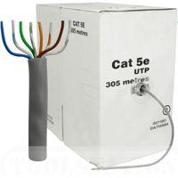 Datortīkla kabelis UTP CAT5E(Fe+Cu) 4x2x0.45mm