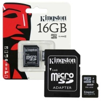 "Atmiņas karte microSD ""Kingston"" 16Gb SDHC (4 class) ― DELTAMOBILE"