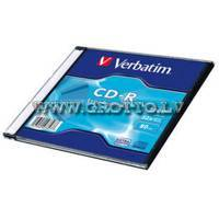 Verbatim CD-R 700Mb/52X Extra Prot. Slim Case ― DELTAMOBILE