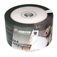 Fortis CD-R 700Mb/52X Cake 50 Printable ― DELTAMOBILE