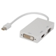 Adapteris mini displayport - HDMI/DVI/VGA