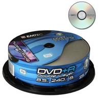 Emtec DVD+R 8.5Gb DL 8x Cake 25 ― DELTAMOBILE