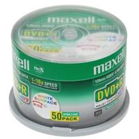 Maxell DVD+R 4.7Gb 16x Cake 50 Printable ― DELTAMOBILE