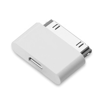 Adapteris microUSB-->IPAD (30 pin) ― DELTAMOBILE