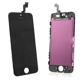 Touch panel and glass+ LCD iPhone 5C(black)