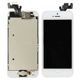 Touch panel and glass+ LCD iPhone 5 (white)